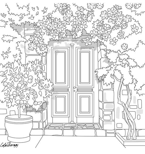 Gardens Colorish Coloring Book App For Adults Mandala Relax By Goodsofttech Coloring Books Coloring Book App Coloring Pages