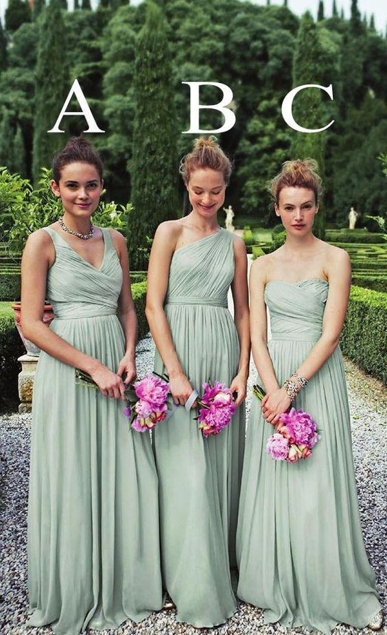 Sage Bridesmaid Dresses 89$