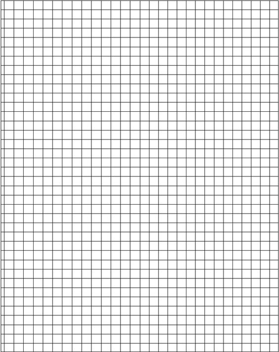 graph paper printable 8.5x11 | Orthographic Grid | FOOOOOD ...