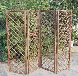 How To Make A Willow Screen Room Divider