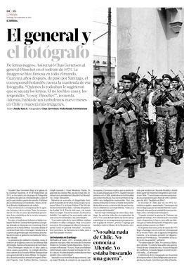 01.09.13: El general y el fotógrafo | La Tercera El Semanal | La Tercera Edición Impresa