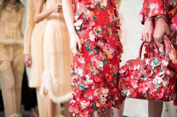 Simone Rocha Spring 2015 RTW – Backstage – Vogue