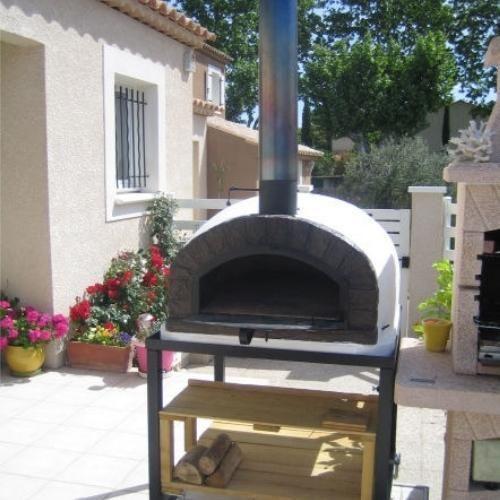 Authentic Pizza Ovens Brazza Apobraz Wood Fired Pizza Oven Pro