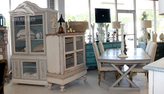 Santa Rosa Beach Shabby Chic And Furniture Stores On Pinterest