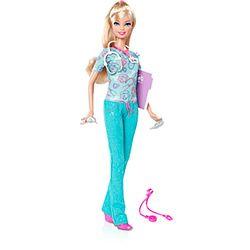 Barbie Quero Ser Enfermeira - Mattel