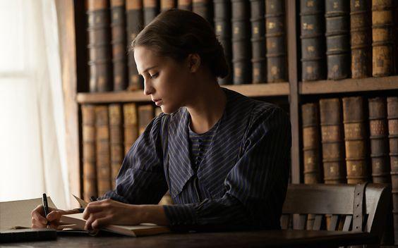 Alicia Vikander as Vera Brittain in Testament of Youth