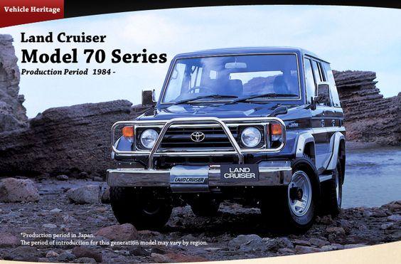 Vehicle Heritage, Land Cruiser, Model 70 Series