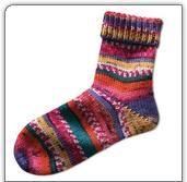 Modell 219/6, Socken aus Freizeit-Color, 6-fädig