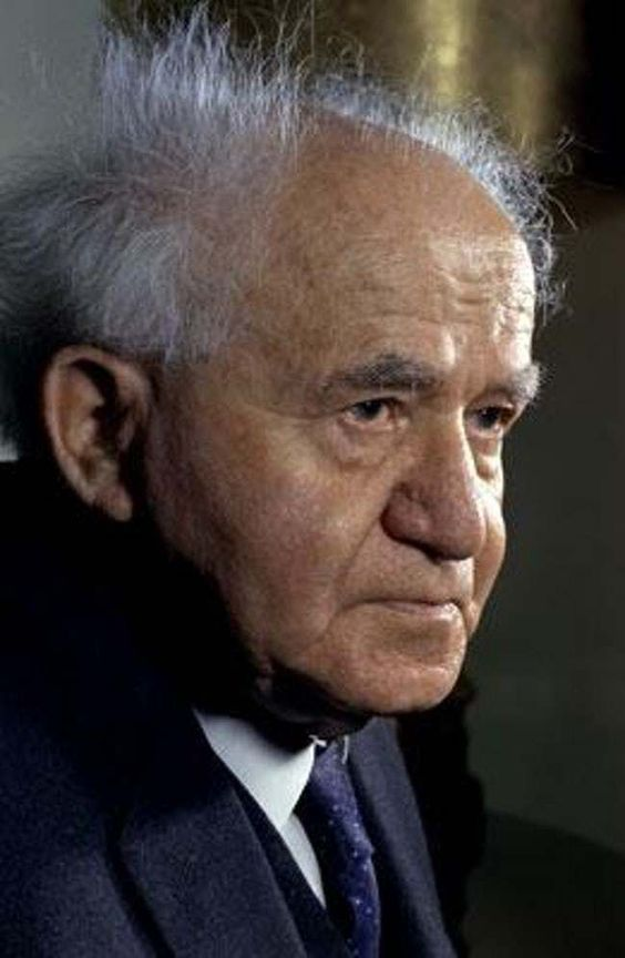 David Ben-Gurion is listed (or ranked) 9 on the list Time Magazine: 100 Most Important People of the 20th Century