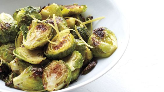 This side of brussels sprouts is ideal for Thanksgiving but is also easy enough for dinner any night. The dish goes well with roasted chicken, lamb chops, or broiled fish.