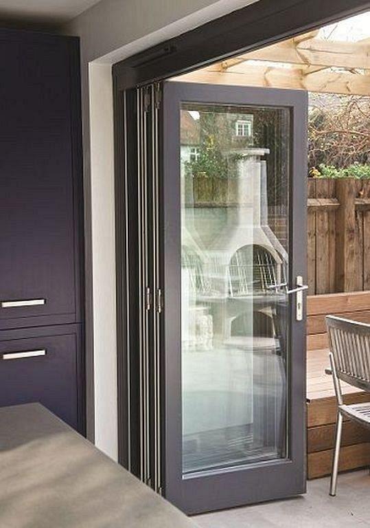 20 Latest Modern Minimalist Bi Fold Door Models Folding Patio Doors Bifold Patio Doors Home Door Design