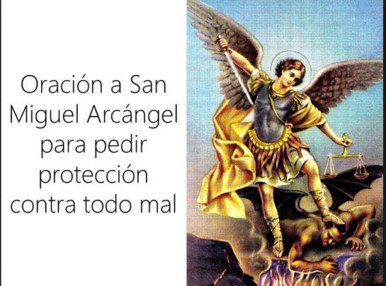 San Miguel Arcángel Oración Para Proteger El Hogar Limpiar Y Purificar Los Santos C San Miguel Arcangel Oracion Oracion De San Miguel Oracion De Proteccion