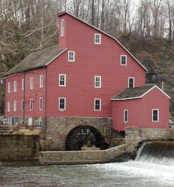Water Wheel Mill in Clinton NJ