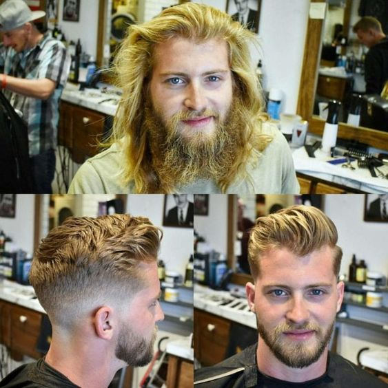 75 Before And After Pictures Of Men With Great Haircuts