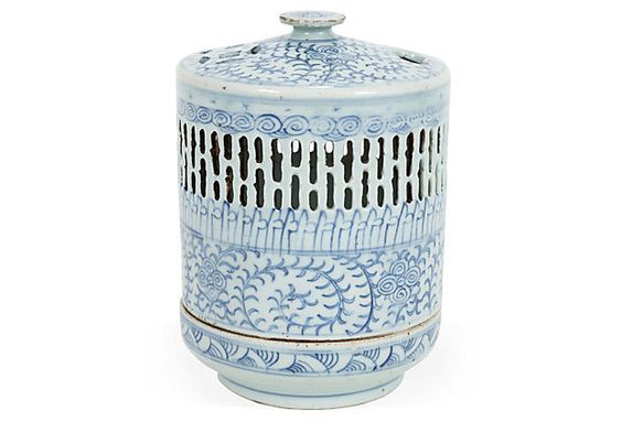 Antique Chinese Porcelain Wedding Lamp on OneKingsLane.com