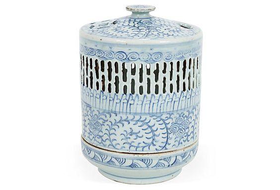 Antique Chinese Porcelain Wedding Lamp on OneKingsLane.com