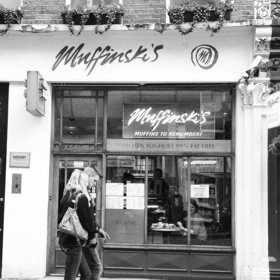 Muffinladen in der Nähe von Covent Garden // Muffinski's Muffin Store, Covent Garden, London