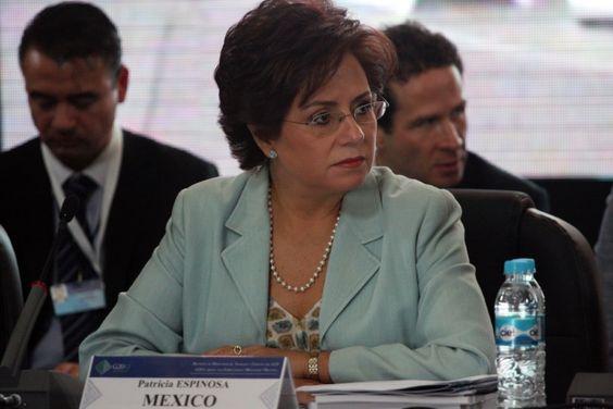 Ex canciller mexicana confirmada al frente del cambio climático de la ONU
