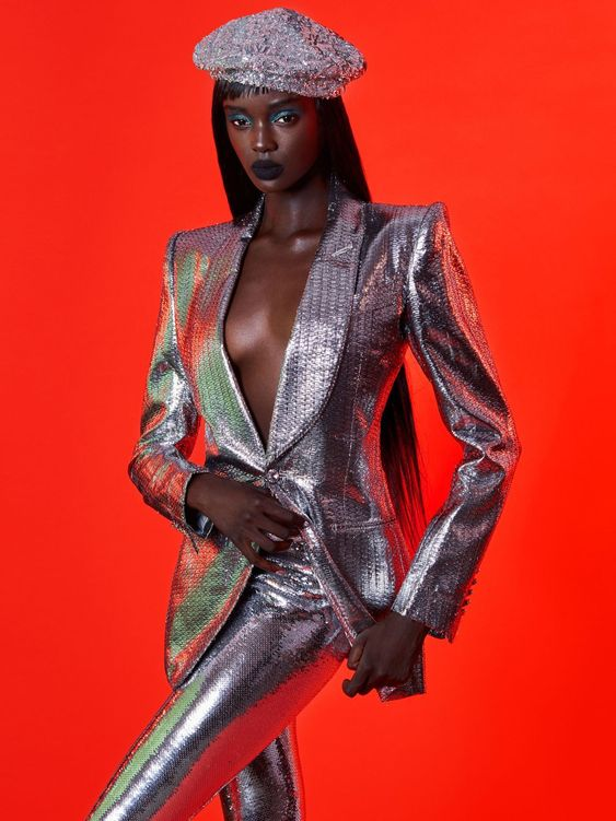 Duckie Thot photographed by Greg Swales for Harper's Bazaar Mexico and Latin America September 2018Stylist: DaVian Lain