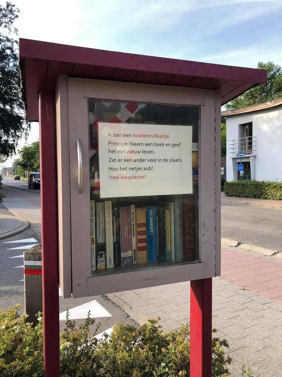 Boekenruilkast Grobbendonk Bouwel
