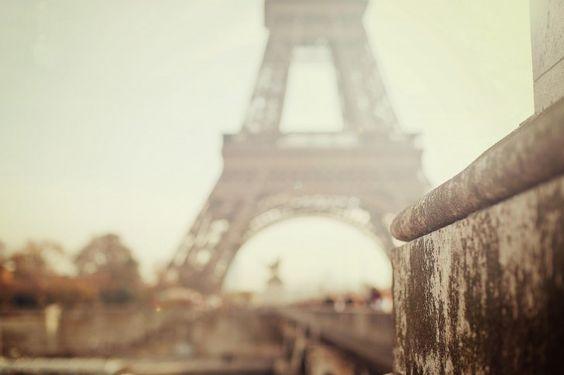 Eiffel Tower, Fuzzy, Paris #eiffel