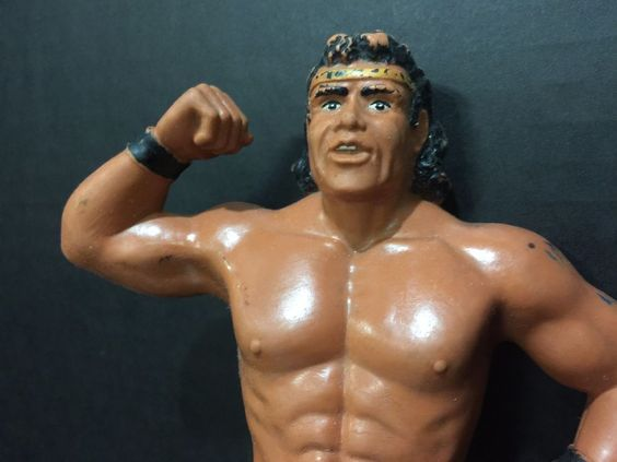 Superfly Jimmy Snuka WWF Action Figure by LJN; World Wrestling Entertainment…
