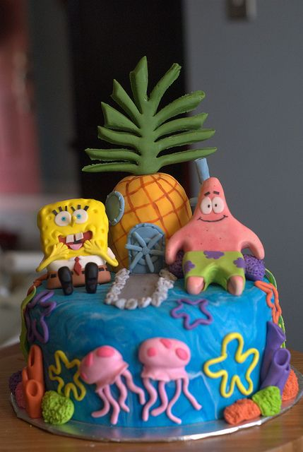 Spongebob Cake Cupcakes And Other Confectionary Delights