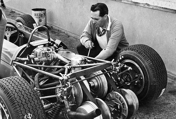 DAF variomatic transmission fitted on Brabham's F3 car.