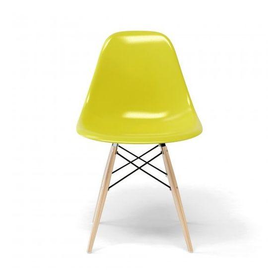 Chaise Eames DSW en couleur - Eames DSWelle a quand même de la gueule !