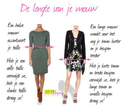 Mouwen maken horizontale lijnen op je lichaam | www.lidathiry.nl | Klik op de foto voor meer tips