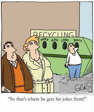 Image result for Recycling Jokes