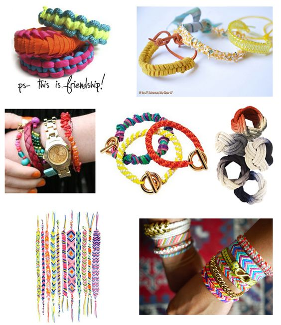 Modern Parents Messy Kids: Modern DIY Bracelets - Perfect for Summer Crafting with Girls
