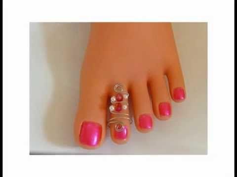 Hand made silver plated toe rings #toerings #handmadejewellery