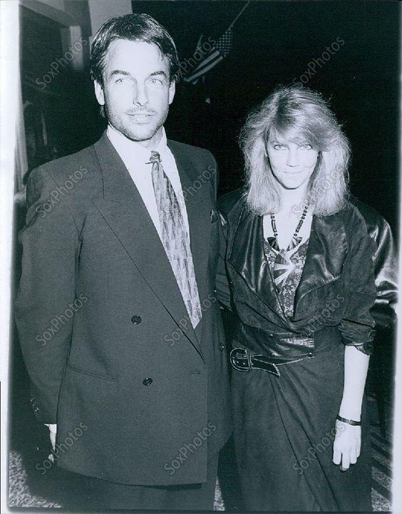 CA242 1980's Dynasty Stars Beautiful Heather Locklear & Mark Harmon  Photo