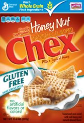 Honey Nut Chex Cereal, my favorite