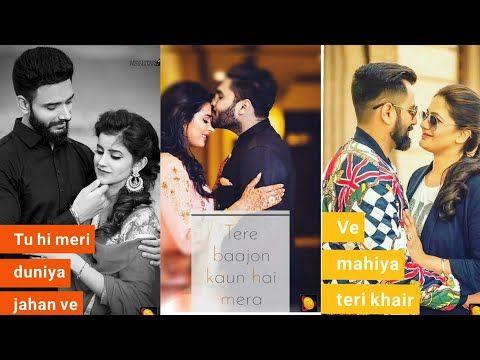 Haye O Meri Jaan Na Ho Pareshan Cute Couple Full Screen Whatsapp Status Mr Romantic Raj Youtube Video App Cute Couples Youtube