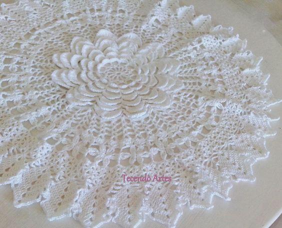 Tecendo Artes em Crochet: Outubro 2013