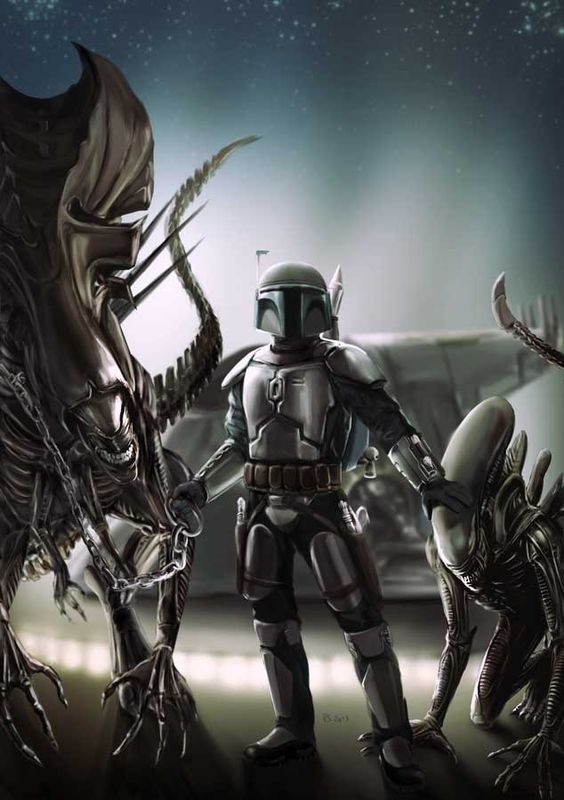 STAR WARS Vs ALIENS – The Art Of (Star) War: