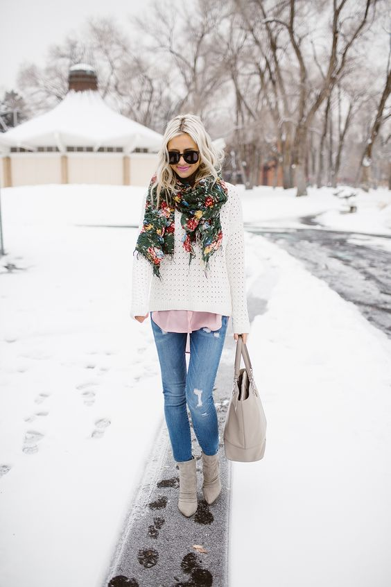 Trending Boho Winter Outfit