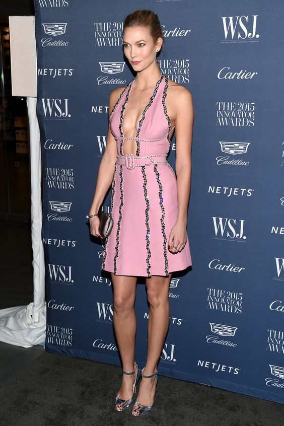 LIKE A KLOSS — Karlie Kloss attends the WSJ. Magazine 2015...