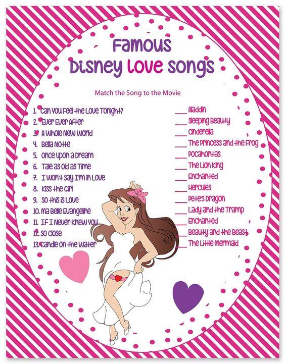 Disney Love Songs. 1.lion king 2. enchanted 3. aladin 4. lady and tramp 5. sleeping beatuy 6. beauty and the beast 7. hercules 8. little mermaid 9.cindrella 10. princess frog 11.pocahontuas 12.enchaned 13 petes dragon