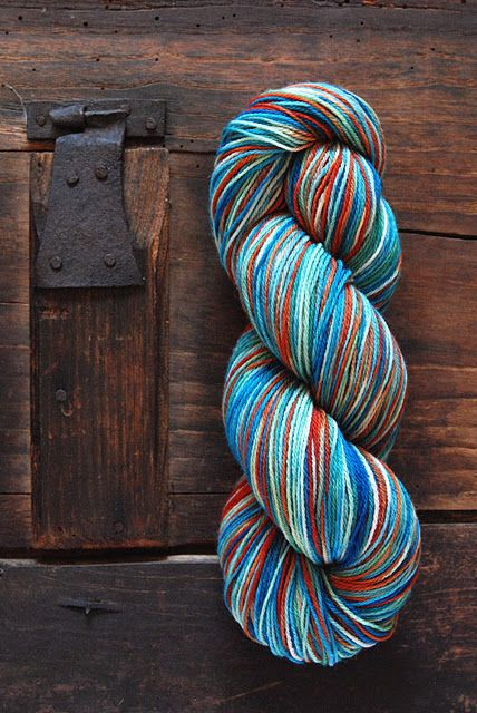 Fishing boat - hand dyed. Bring back the summer! :)