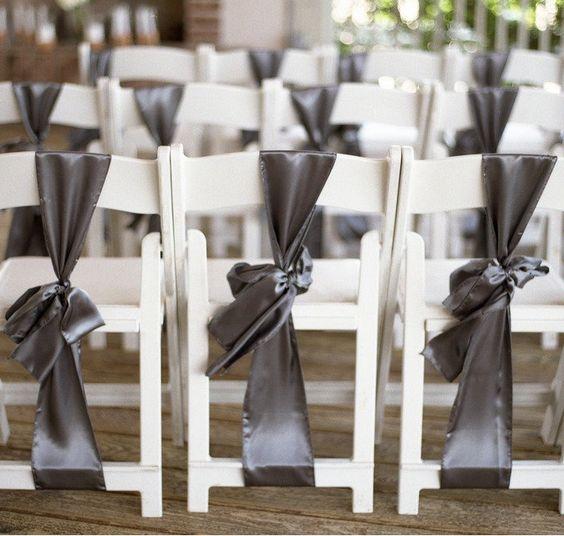 App Wedding Decoration: Party♥ Chair Decor # Silver Wedding ... Wedding Ideas For