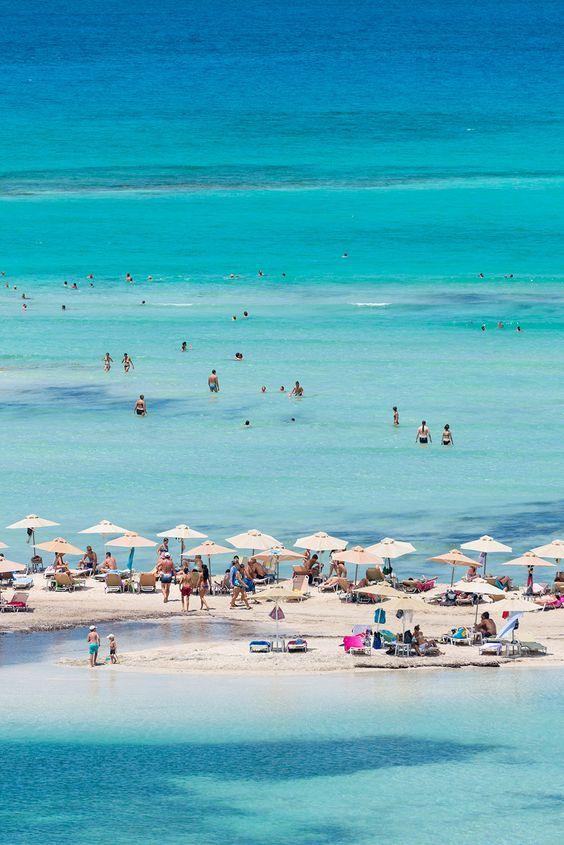 Balos Lagoon, Chania, Crete.
