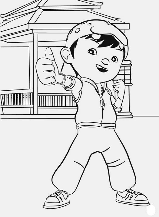 Boboiboy Coloring Book For Kids In 2021 Coloring Books Coloring Pages Coloring Sheets