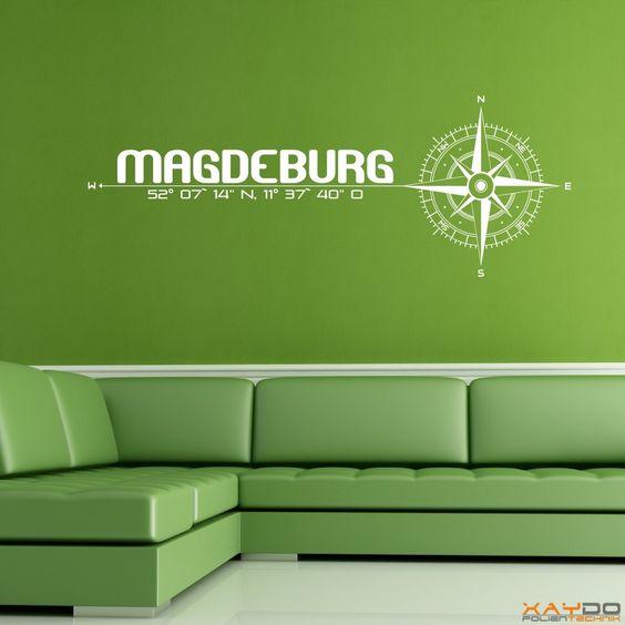 "Wandtattoo ""Stadt Magdeburg"" - 19,95€"