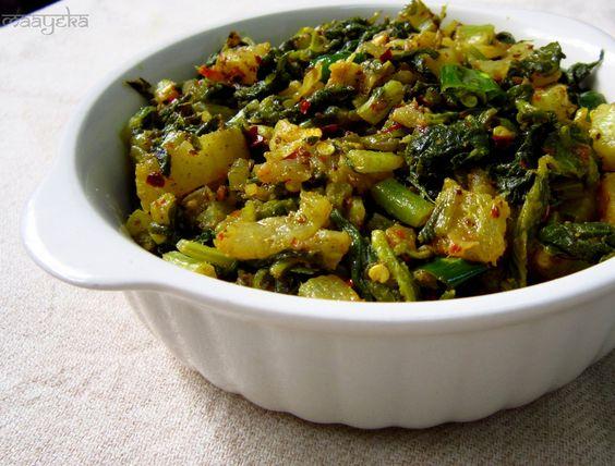 Maayeka: Mooli Bhujiya / Stir Fried Raddish