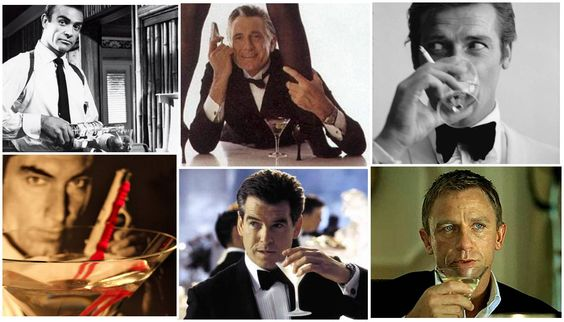 bond drinking martini - Google Search