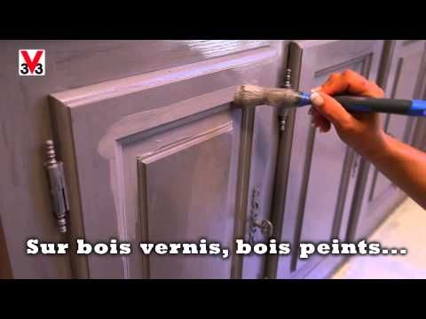 Cuisine youtubers and comment on pinterest - Repeindre un meuble en bois deja peint ...