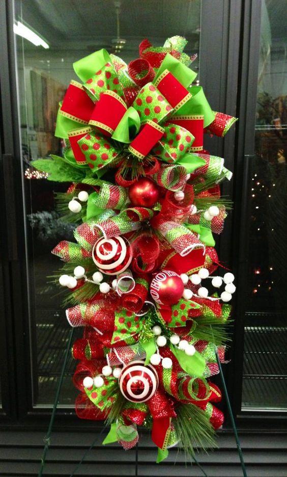 ideas-decorar-puerta-navidad-diy-5.jpg (570×946)